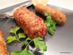 ... Fritters on Pinterest | Fritters, Corn fritters and Potato croquettes