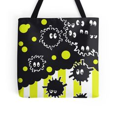 Soot Sprites with Yellow Stripes