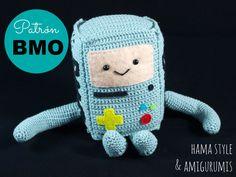 Patrón B.M.O. Hora de Aventuras [ESPAÑOL] - Crochet Amigurumi de HamaStyle en Etsy (null)