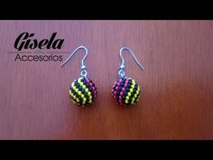 Aretes en Mostacilla con Patrón en Espiral - YouTube Beaded Choker, Beaded Earrings, Drop Earrings, Geometric Necklace, Cacao Powder, White Beads, Potpourri, Pretty, Crafts