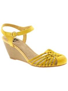 Yellow shoes are my thing and I think my friend Sadie has these.