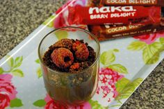 Chocolate avocado mousse pots. Green + Aquamarine | Cooking with Nakd Bars #cleaneating #nakd #nakdbars