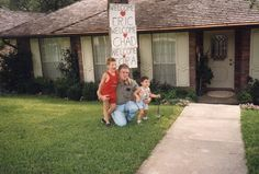 Chad, Dad and Eric- 1989