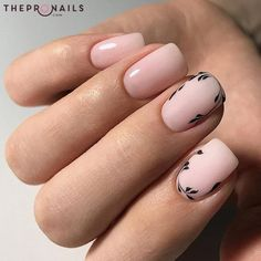 Such a clean and clear nail design, don't you think? #nails #pastel #simplicity #manicure