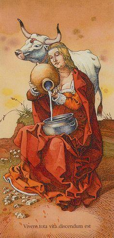 Temperança - Dürer Tarot