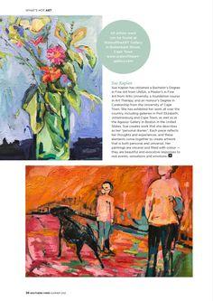 Art Scene: Anina Deetlefs, Janet Botes and Sue Kaplan