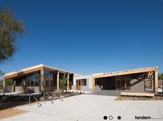 Creeds Farm Living Learning Centre, Aurora by Tandem Design Studio Architects. Please feel free to repin or click to visit our website. #architecture #design #timber #australian #tandem #melbourne