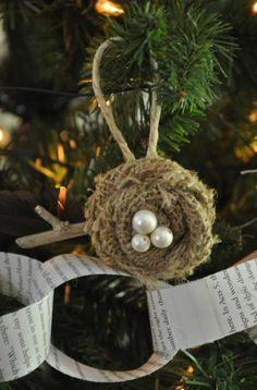 Diy songbird christmas ornament what a cool diy christmas diy sit a spell upcycle christmas lots of cute ornament ideas solutioingenieria Gallery