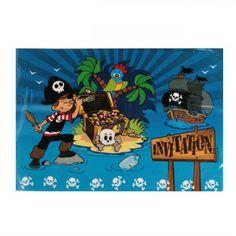Cartes invitation pirate