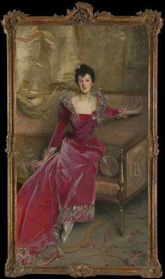 @metmuseum John Singer #Sargent  #American,  1856–1925 Mrs. Hugh #Hammersley