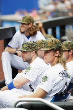 Jacob deGrom, David Wright, Noah Syndergaard, NYM//May 30, 2016 v CWS