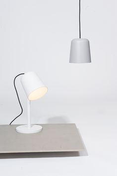 Beech lamp white   lighting . Beleuchtung . luminaires   Design: Made by who  