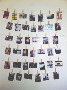 photo wall inspiration diy