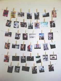 photo wall inspiration diy