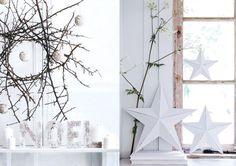Vous avez envie d'une décoration de Noël sobre et épurée, dans le style scandinave ? Optez pour des matériaux naturels comme le bois, pour des teintes neut