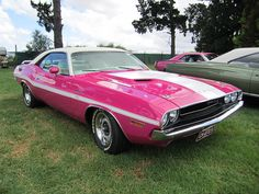 Probably breast cancer awareness months favorite looking car #pink