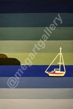 Artist: Mpakogianni Maria Title: Blue Lines acrylic Blue Lines, Joomla Templates, Sea, Gallery, Artist, Movie Posters, Film Poster, Popcorn Posters, Ocean