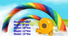 Lowest Price Wholesale-Brand New 20*12ft D=6M,8M,10M,12M,15M Inflatable Rainbow Arch Advertising Ceremony Gateway DHL/EMS with CE UL Blower Inflatable Arch Inflatable Entrance Stitching Arch Online with 396.88/Piece on Beryl77's Store | DHgate.com