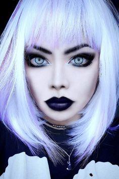 nu goth / pastel goth makeup || Wylona Hayashi
