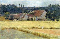 Theodore Robinson I French Farmhouse