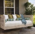 Hanging Daybed or Swing, daybed,hanging,swings,outdoors,free woodworking plans,porch swing,diy