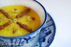 Sholeh Zard ~ Persian Saffron Rice Pudding - My Persian Kitchen