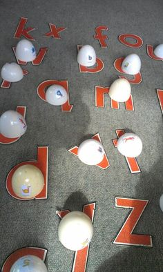 SandpaperLetters with Letterland characters to match