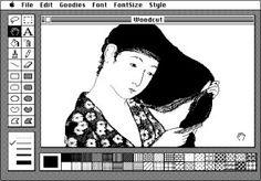 MacPaint (1984)online. Para recordar viejos tiempos