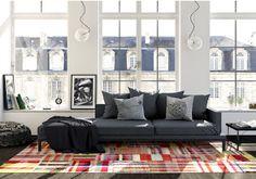 Serendipitylands: DIY Home Alfombras Patchwork
