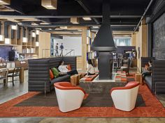 A combination of working and social space