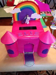 My little pony Valentine's box