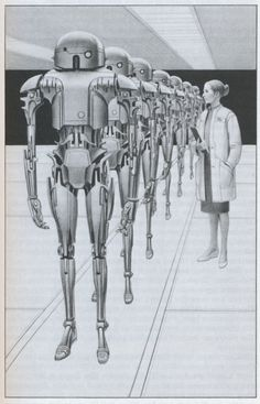 Ralph McQuarrie reminiscent of a story from the book I,Robot