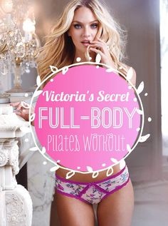 All in all, this routine and rout to achieving that physical state that Victoria's Secret models have is really hard work.