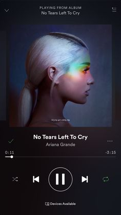 No tears left to cry is a great song! I will def be adding it to my May playlist on Spotify! #spotify #arianagrande