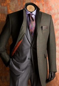 Gentlemen: #Gentlemen's fashion.