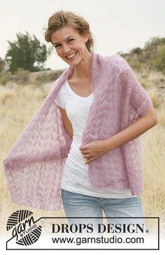 Silk Leaves   DROPS 127-39 - Modelli di maglia gratuiti di DROPS Design 377c49065d64
