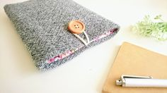 """Thanks for the kind words! ★★★★★ """"My case is perfect and fits my phone perfectly! My favorite part is the material inside."""" mully74 http://etsy.me/2zvP4Vo #etsy #accessories #case #cellphone #gray #purple #iphone7case #iphone7pluscase #phonecase #paddedphonesleeve"""