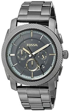 Fossil Men's Quartz Stainless Steel Automatic Watch, Color:Grey (Model: FS5172) | AMAZON.COM saved by #ShoppingIS