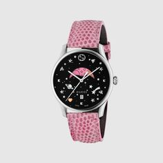Buy your g-timeless watch Gucci on Vestiaire Collective, the luxury consignment store online. Pre-owned Pink G-timeless watch Gucci in Steel available. Gucci Jewelry, Jewelry Watches, Star Jewelry, Gold And Silver Watch, Moonphase Watch, Gold Watches Women, Pink Watch, Gucci Watch, Mens Gift Sets