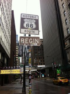 The beginning of Route 66 -  Chicago