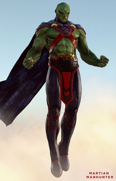 Awesome Character Art for DC's Martian Manhunter — GeekTyrant