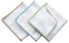 Sinland 3-pack Thick Microfiber Towels For Kitchen Waffle Weave Tea Towels Dish Towels Drying Towels Kitchen Towels Color Edge - Visit to see more options