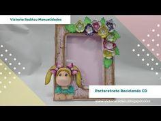 DIY Portaretrato Magnolia en Madera y Foamy Victoria RodAcu - YouTube