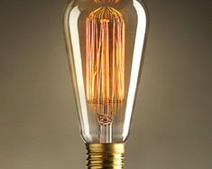 vintage edison bulbs - Google Search