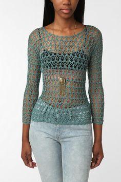 Lo♥e this crochet top