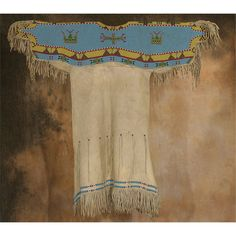 Lakota Sioux Beaded Dress, 1880s