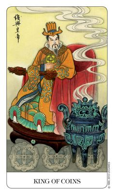 Chinese Tarot - King of Coins