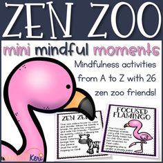 Welcome to the Zen Zoo! This mindfulness from A to Z activity pack is perfect for creating a mindful, zen classroom guidance lesson or small group counseling experience for early elementary students! Use the 26 mindfulness scripts to lead students through mindfulness exercises, and give students a chance to reflect on