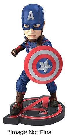 Avengers L`Ere d`Ultron Head Knocker Extreme Captain America NECA
