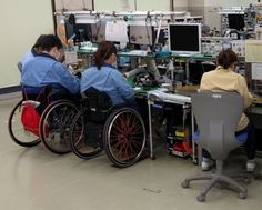Disabled Employees in Manufacturing – Omron Taiyo in Japan – Part 1 #Management #handicapped #Omron #Shopfloor